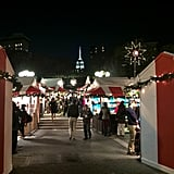 Meander around the various holiday markets.