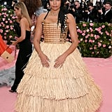Aurora James at the 2019 Met Gala
