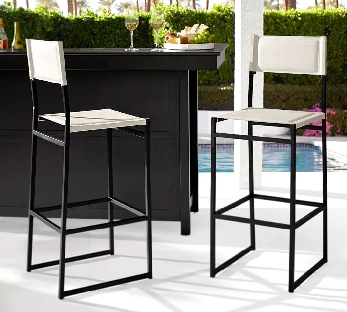 Pottery Barn Hardy Outdoor Barstool