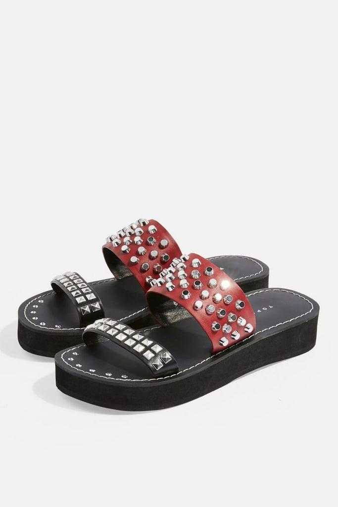 Topshop Fierce Flat Sandals