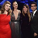 Pictured: Emily V. Gordon, Gal Gadot, Patty Jenkins, and Kumail Nanjiani