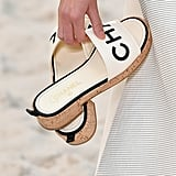 The Chanel Cork Slide