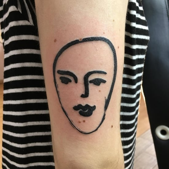Henri Matisse-Inspired Art Tattoos