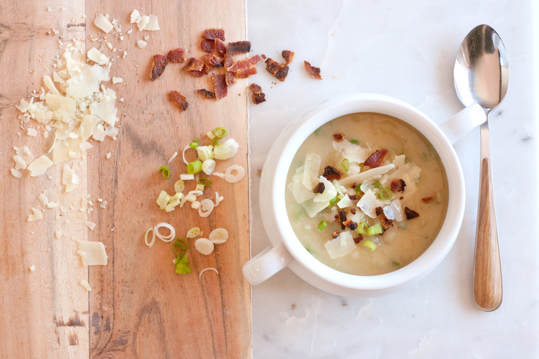 Simmer This Baked Potato Soup All Day For an Easy Weeknight Dinner