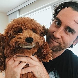 Pictures of Matthew Lewis and His Dogs