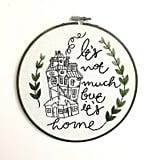 Embroidery Hoop ($55)
