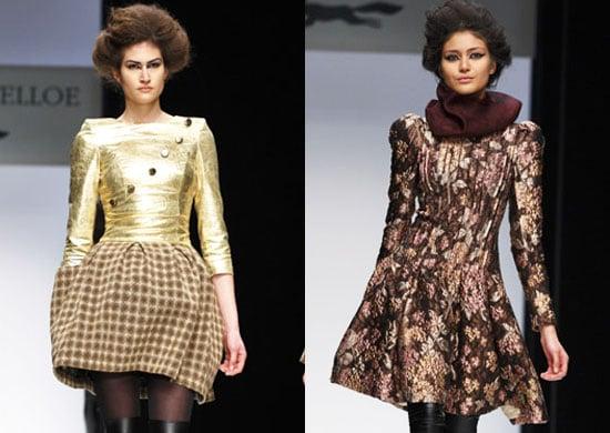 Photos of Paul Costelloe at London Fashion Week Autumn 2010