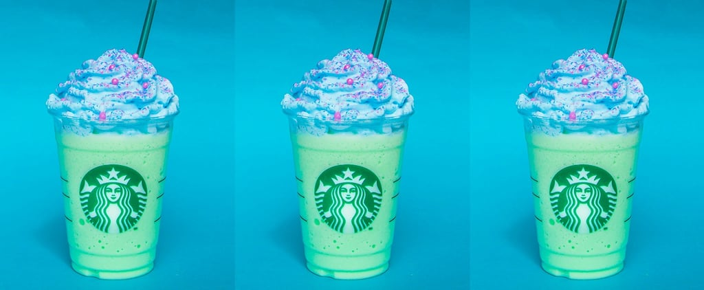 Starbucks Mermaid Frappuccino