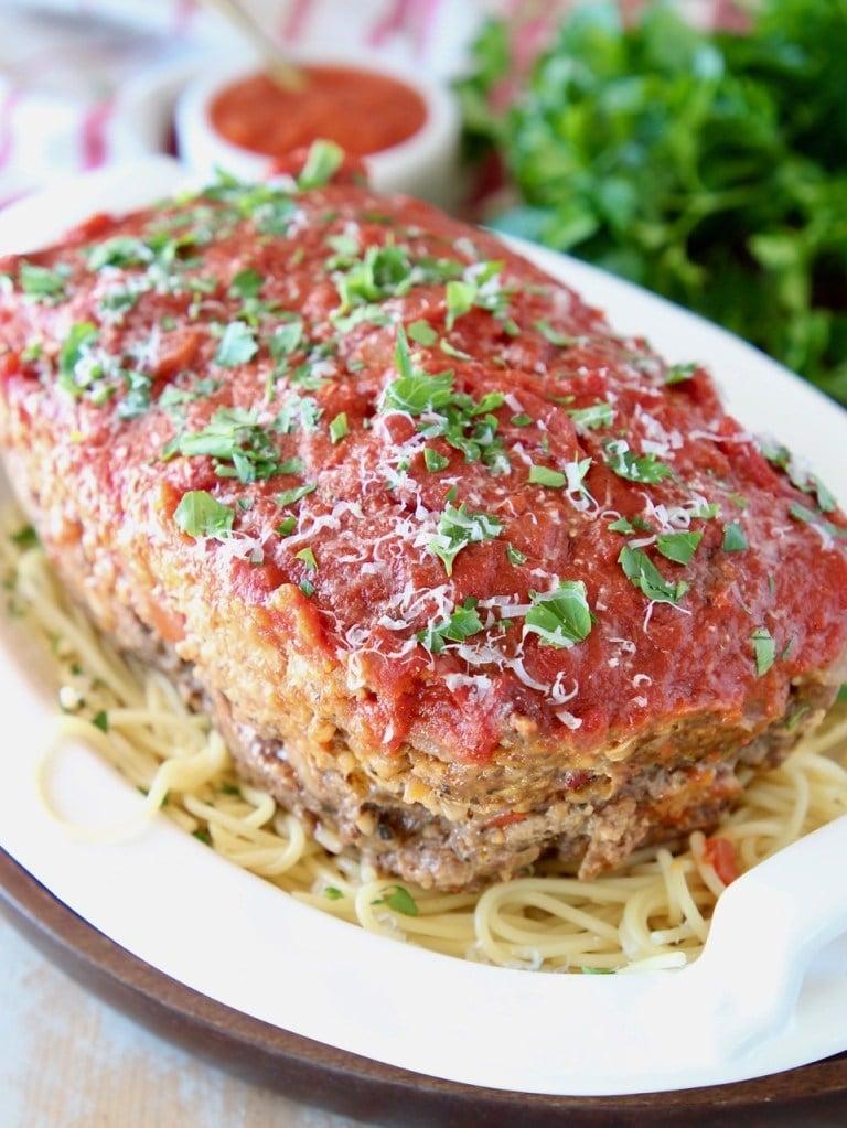 Quick Italian Meatloaf