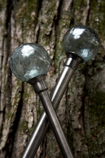 Steal of the Day: Recycled Glass Finial Rods