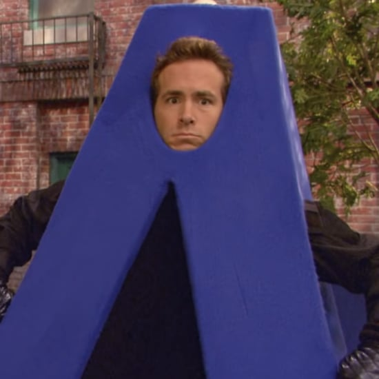 Ryan Reynolds Jokes About Being Letter A on Sesame Street