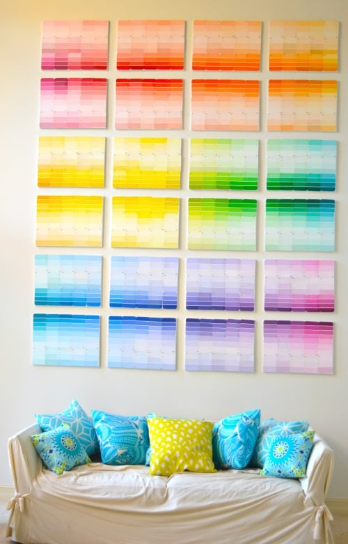 Paint Sample paint sample crafts | popsugar smart living