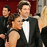 Patrick Dempsey and Chandra Wilson showed their smiles on the red carpet in 2008.