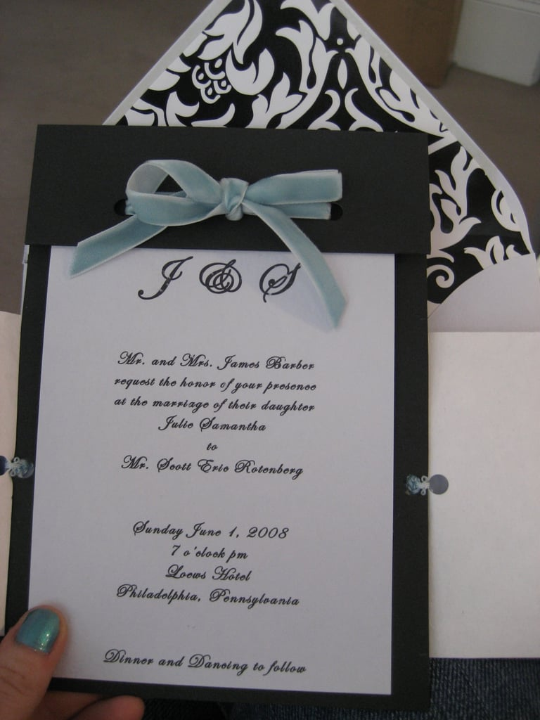 Come Party With Me: Wedding - Invites