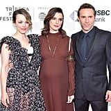 With Rachel McAdams and Alessandro Nivola.