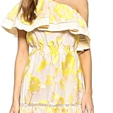 Rebecca Taylor Ella One Shoulder Ruffle Dress ($795)