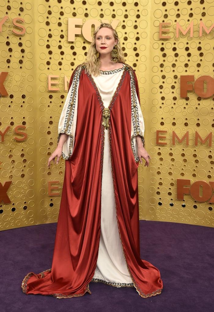 Gwendoline Christie at the 2019 Emmys