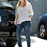 Pregnant Sarah Michelle Gellar Pictures at LA Zoo
