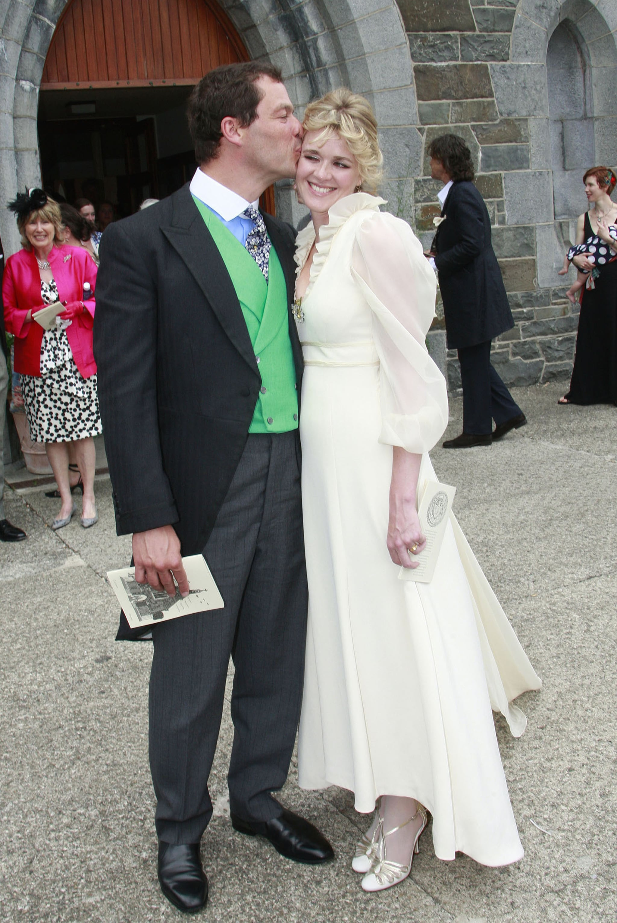 Pictures of The Wire's Dominic West Wedding Marrying ...