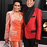 Frances Glandney and Smokey Robinson