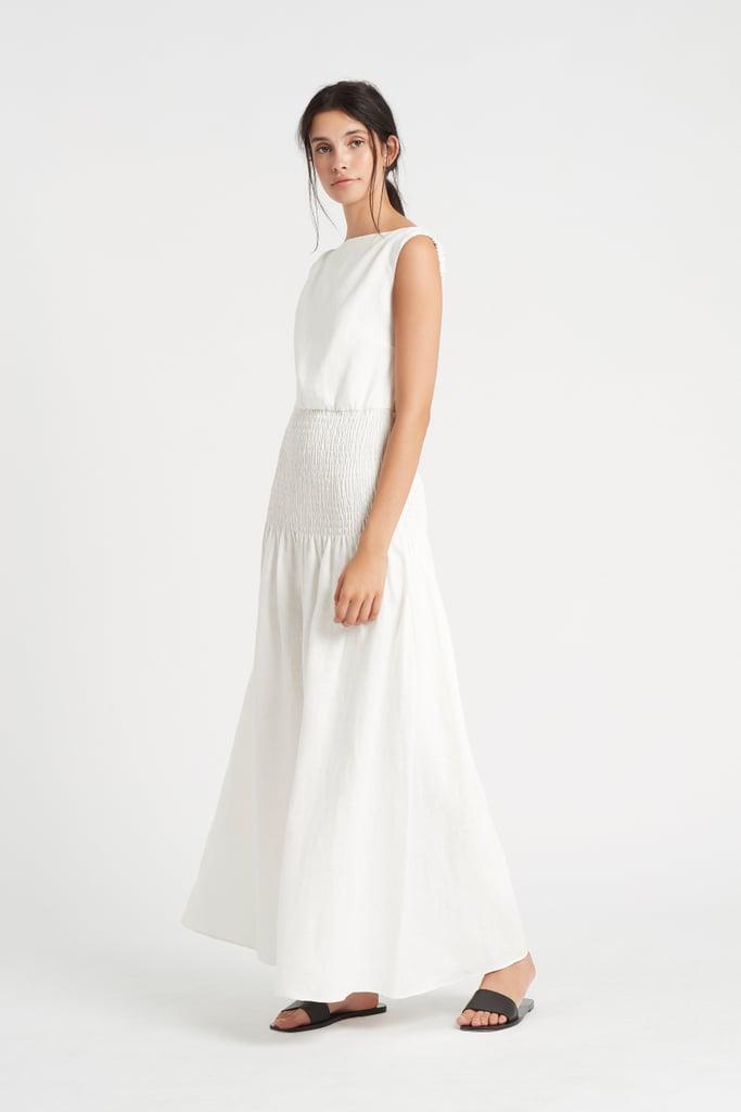 Sir the Label Lorena Open Back Maxi Dress