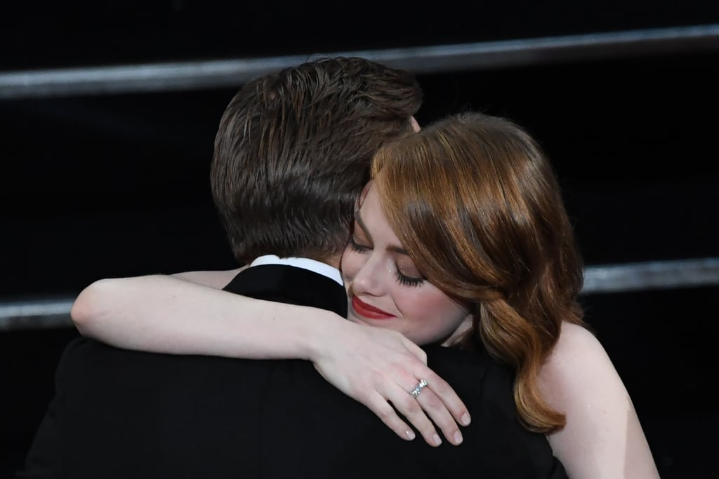 Pictured: Ryan Gosling and Emma Stone