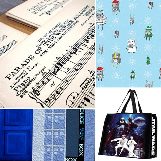 Geeky Robot Wrapping Paper