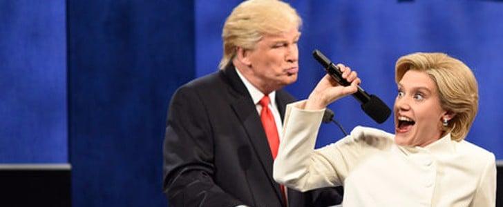 SNL Video Making Fun of Trump and Third Presidential Debate