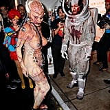 Heidi Kum and Tom Kaulitz as an Alien and an Astronaut