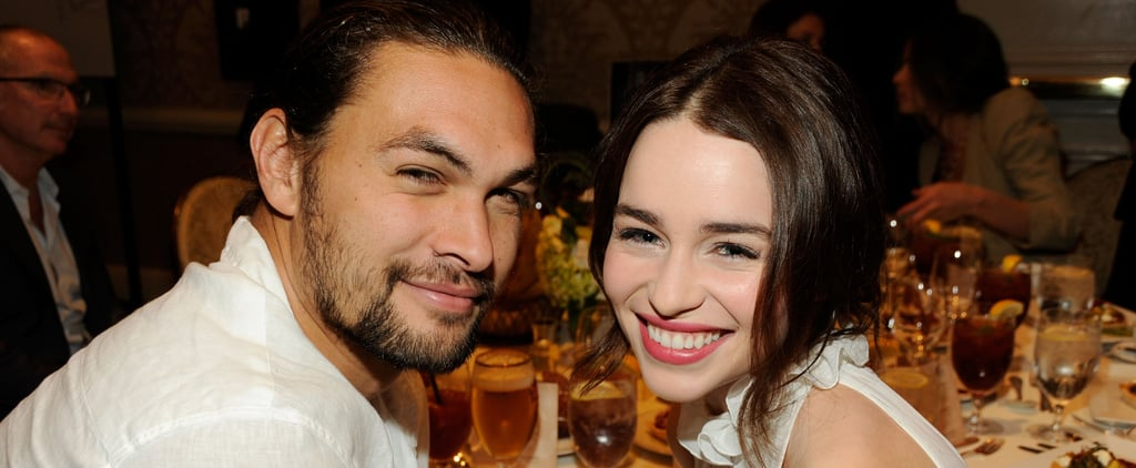 Jason Momoa Talks About Emilia Clarke's Health Scare