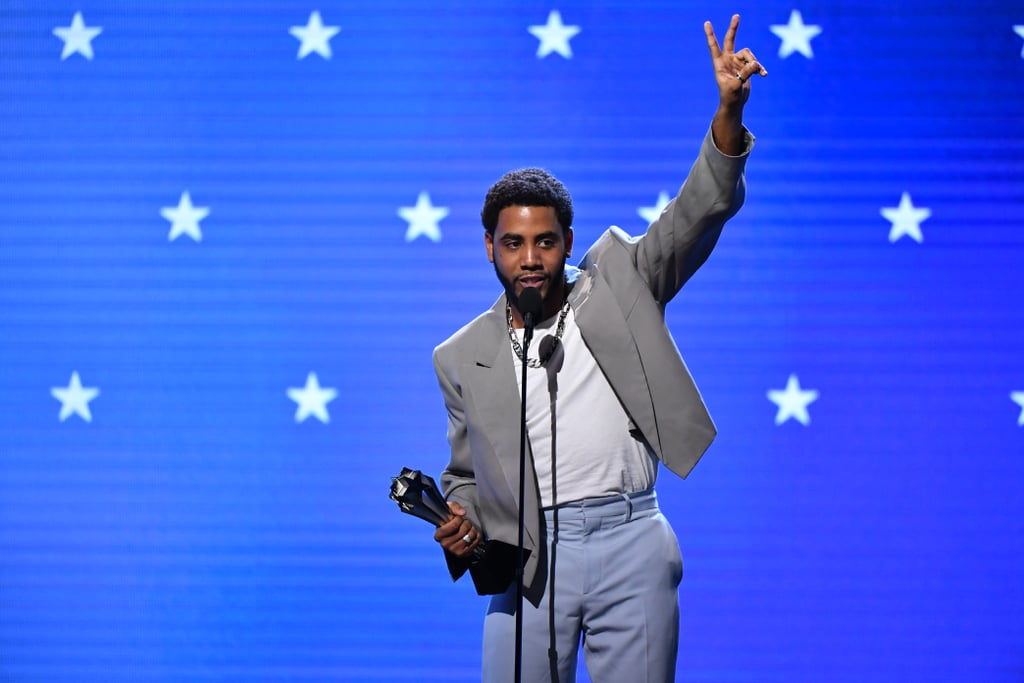 "Jharrel Jerome was one of the big winners at Sunday's Critics' Choice Awards. The 22-year-old actor took the stage to accept the award for best actor in a limited series or movie made for television, accredited to his role as Korey Wise in Netflix's When They See Us. He took a moment in the spotlight to thank everyone who played a part in his success, notably the Exonerated Five, who inspired the series.  ""This is for the Exonerated Five, no matter what,"" Jerome said, accepting his first-ever Critics' Choice award. ""This is for Korey Wise, Antron McCray, Yusef Salaam, Raymond Santana, Kevin Richardson."" He went on to thank his mother, father, aunt, and sister before giving a special shout-out to director Ava DuVernay — who, earlier in the night, delivered a powerful speech while accepting the best limited series honour for When They See Us. Calling Duverney an ""amazing, graceful queen,"" Jerome showed her some appreciation for giving him the opportunity to bring such an important story to light. Check out more photos from Jerome's memorable night and stay tuned for a video of his full speech!      Related:                                                                                                           Presenting the 2020 Critics' Choice Awards Winners: Regina King, Jharrel Jerome, and More!"