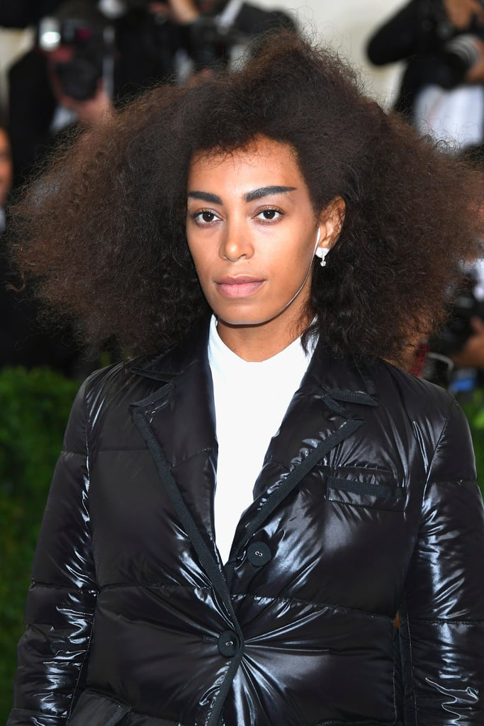 Blink and You'll Miss This Edgy Detail of Solange Knowles's Met Gala Beauty Look