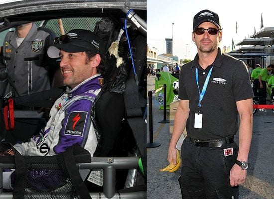 Patrick Dempsey Takes the Wheel