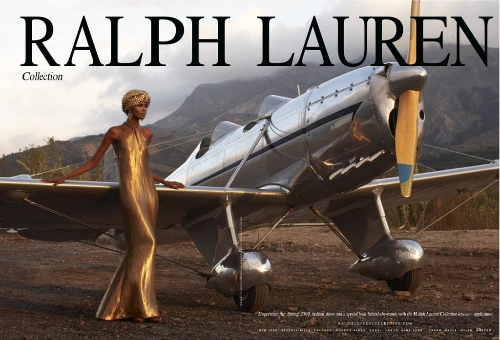 Ubah Hassan For Ralph Lauren