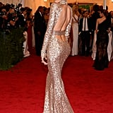 Karolina Kurkova showed off her Rachel Zoe gown.