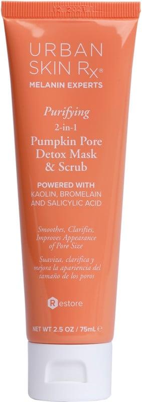 Urban Skin Rx Purifying 2-in-1 Pumpkin Pore Detox Mask and Scrub