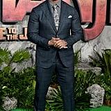Dwayne Johnson on Jumanji Press Tour Pictures 2017