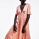 Zara Polka Dot Dress ($99)