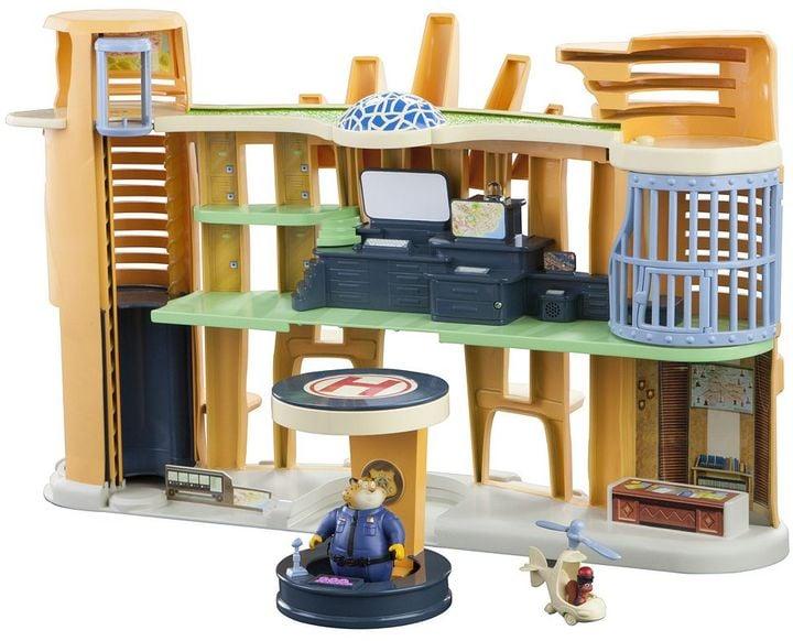 Disney's Zootopia Police Station Playset