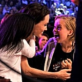 Angelina Jolie Is Too Cute For Words With Shiloh and Zahara at the Kids' Choice Awards