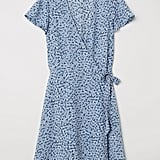 H&M Patterned Wrap Dress