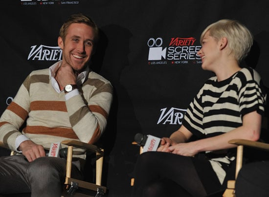 Video of Ryan Gosling and Michelle Williams Talking Dating Rumours!