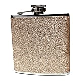 Ms Lovely Glitter and Stainless Steel Hip Flask