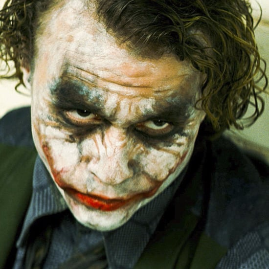 Heath Ledger Getting Hit in The Dark Knight Movie