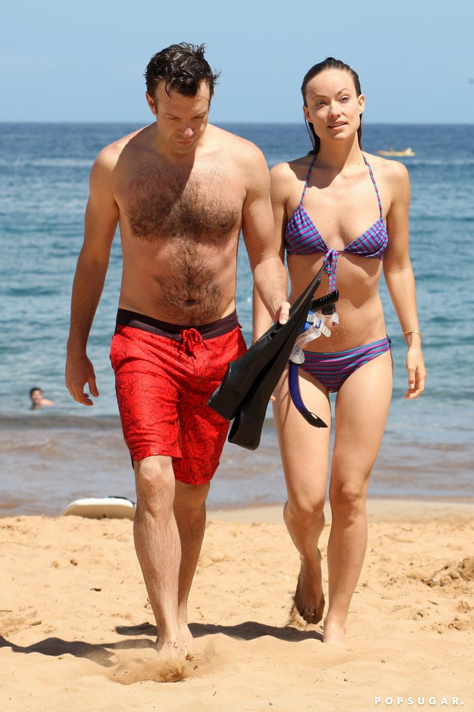 Jason Sudeikis And Olivia Wilde Got Away To Hawaii