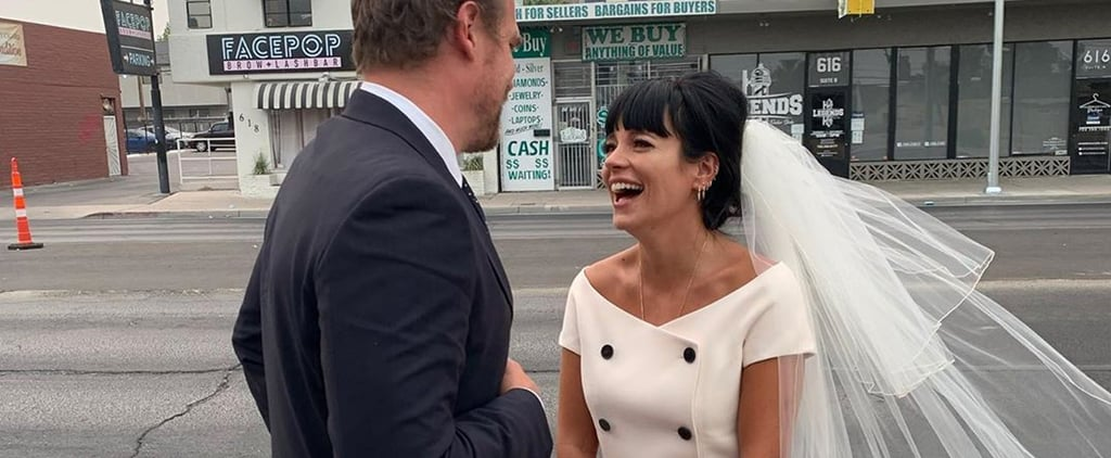 Lily Allen Wore a Minidress For Her Wedding to David Harbour