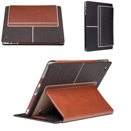 For the super chic tech hounds, the Venture iPad case ($60) is styled like a portfolio with detailed stitching and smart magnet sleep functions.
