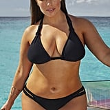 Ashley Graham x swimsuitsforall Double-Cross Black Bikini ($109)