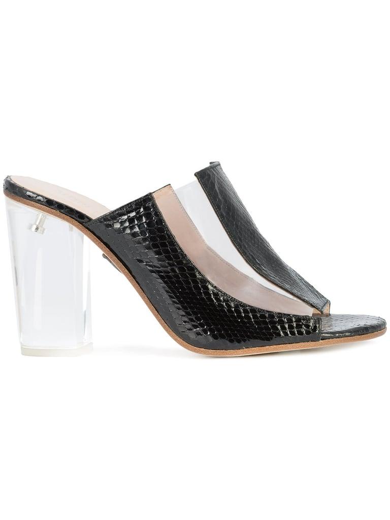 5368c9a487e4a Kim Kardashian s Clear Heels