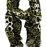 Yves Saint Laurent Leopard-Print Wool and Cashmere-Blend Scarf ($995)